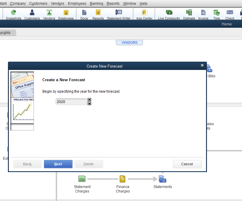 How to customize an expenses by vendor detail report in new QuickBooks ...